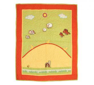 Farm Theme Baby Quilt