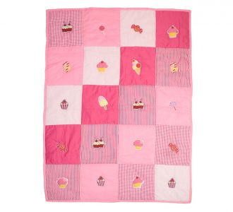 Cupcake Baby Quilt