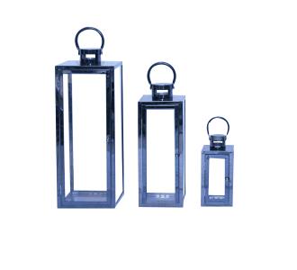 Metal Lantern Squire Set Home Decor