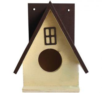 Beautiful Bird House Nest Box For Sparrow Maroon