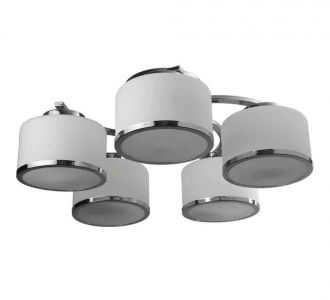 Desgigner Round Ceiling Lights With A Uniue Steel Frame