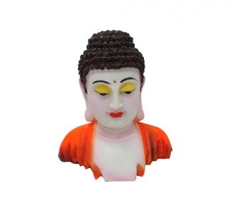 Marble And Resin Lord Buddha Face Showpiece