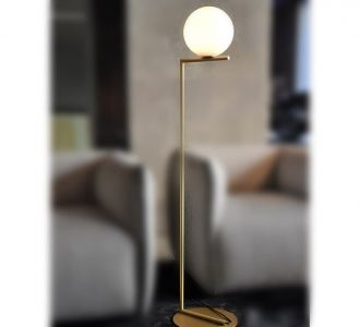 Contemporary Slender Leaning Svelte Sylphlike Neck Table Lamp Lightweight With Strong Base