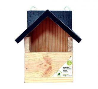 Bird House Sparrow Small Garden Birds Nestbox Home Shape V2