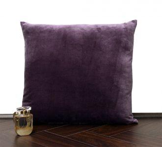 Wine Velvet Cushion Cover Velvet Solid Pillowcase Velvet Pillow Cover Wine
