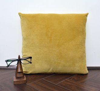 Mustard Velvet Cushion Cover Velvet Solid Pillowcase Velvet Throw Pillow Decorative Cushion Pillow Cover
