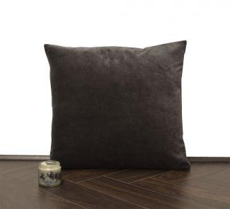 Charcoal Velvet Cushion Cover Velvet Solid Pillowcase Velvet Throw Pillow Decorative Cushion Pillow Cover