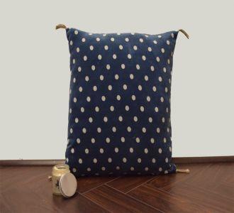 Classic Blue Velvet Cushion Cover Velvet Printed Pillowcase Velvet Throw Pillow Decorative Cushionpillow Cover