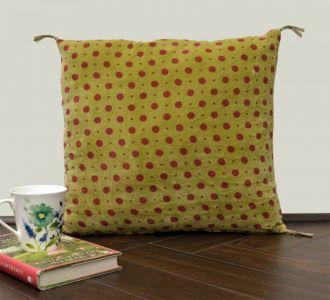 Vintage Polka Dot Velvet Cushion Cover Velvet Printed Pillowcase Velvet Throw Pillow Decorative Cushion Pillow Cover