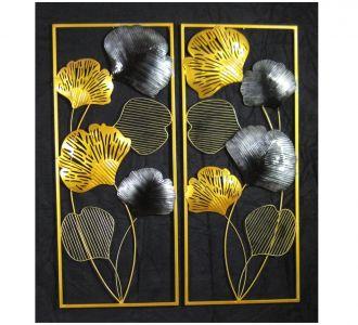 Decorative Leaf Wall Pannel Decor Set Of 2