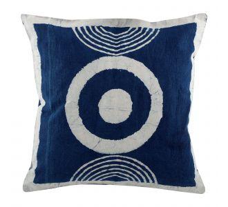 Bold Boutique Indigo Blue Hand Block Print Multipurpose Decorative Cushion Covers With Cotton Fabric Home Decor