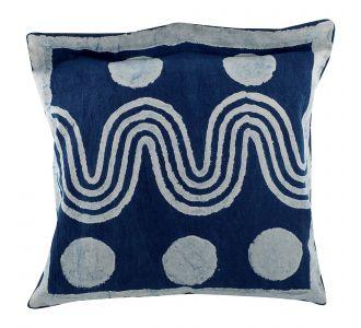 Beautiful Boutique Indigo Blue Hand Block Print Multipurpose Decorative Cushion Covers With Cotton Fabric Home Decor