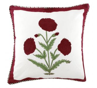 Bright Boutique New Hand Block Print Pillow Cover Cotton Natural Color Pillow Cases Boho Cushion