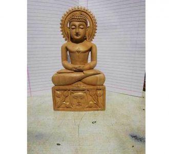 Wooden Buddha Home Decor