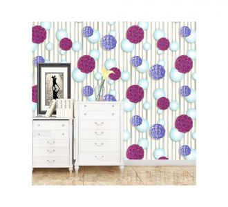 3D Effect Style Multishaded Floral Collection Self Adhesive Classics Wallpaper