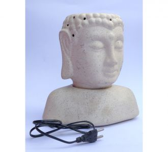 Lighting Electric Buddha Face Lamp Aroma Diffuser Well Sculptured Home Decor Item Special
