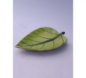 Attractive Small Light Green Leaf Platter Buy Home Decor Exclusively Online
