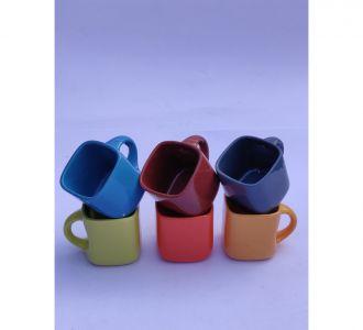 Elegant Multi Ceramic Tea Cups Home And Office Decor