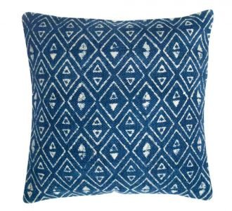 Elegant Coloured Cheerful Cotton Cushion Cover With Jaipur Blocks Comes Along A Zip Decorative Item