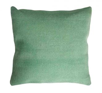 Zestful Green Coloured Cotton Cushion Covers With Jaipur Block And Protective Zip