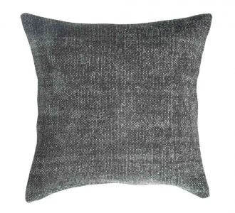 Diligent Grey Coloured Cotton Cushion Covers With Jaipur Block And Protective Zip