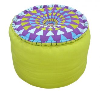 Modern Style Comfortable Organic Cotton Pouffes For Living Room