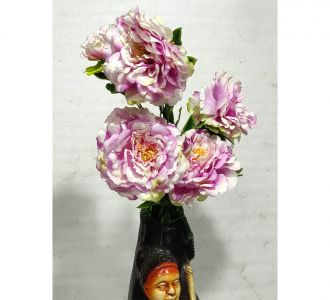 Artifical Plastic Flower For Home Decor In The Shade Of Light Pink