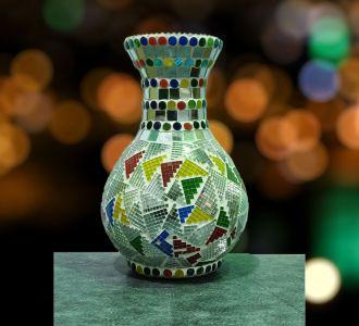 Epoxy Print Vase Home Decor And Gifting Item