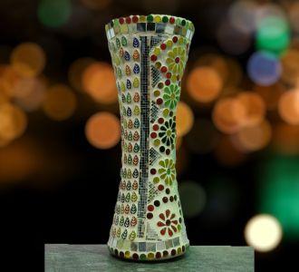 Cylindrical Designer Flower Vase Home Decor And Gifting Item