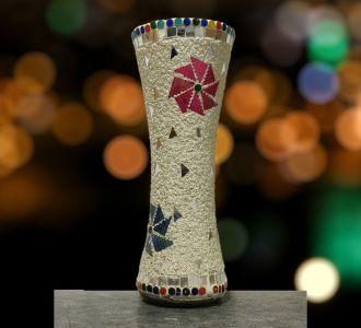 Classic Decorative Triangle Flower Vase Home Decorative Item