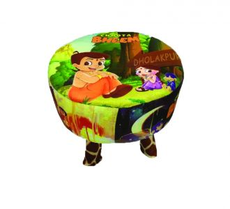 Amazing Kids Wood Stool Chotta Bheem Design For Decoration And Designing Wooden Stool Buy Home And Gifting Products Online For Children And Toddlers