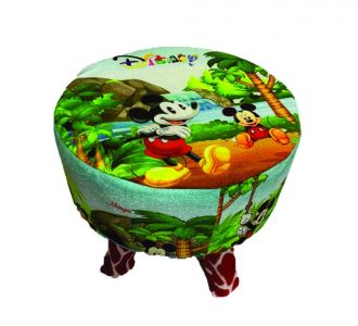 Amazing Kids Wood Stool Mickey Mouse Design For Decoration And Designing Wooden Stool Buy Home And Gifting Products Online For Children And Toddlers
