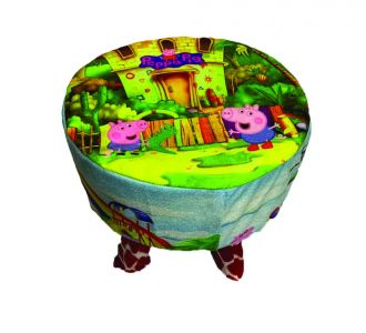 Amazing Kids Wood Stool Peppa Pig Design For Decoration And Designing Wooden Stool Buy Home And Gifting Products Online For Children And Toddlers