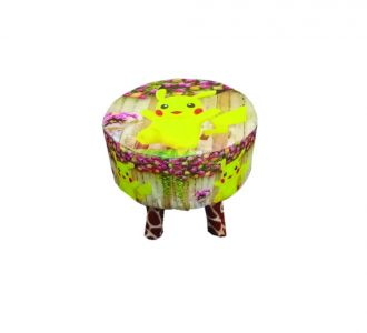 Amazing Kids Wood Stool Pickachu Design For Decoration And Designing Wooden Stool Buy Home And Gifting Products Online For Children And Toddlers