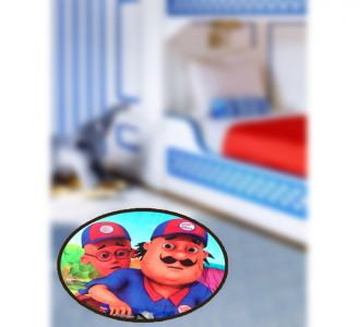 Lovely Digital Print Round Shape Door Mats Motu Patlu Buy Home Decor And Gifting Products Online