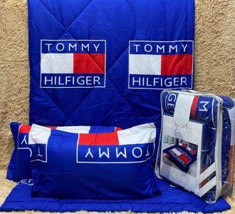 Brands Printed Comforter Set Bedding Set Navy