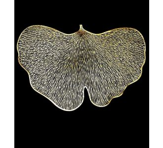 Silver And Gold Leaf Laser Mats Placemats For Dining Table