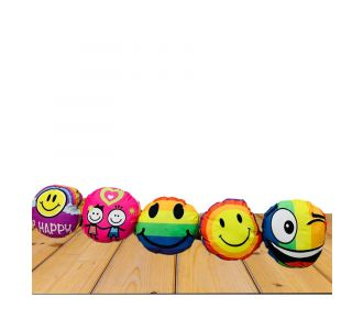 Set Of 5 Charming Emoticons Pad Fronts Of Delicate Texture With Semi Plastic