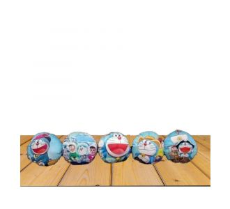 Set Of 5 Multicolor Circle Shape Planned Pad Fronts Of Delicate Texture And Semi Plastic