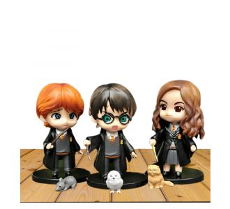 Harry Potter Fingurines Toys Of Ceramic And Black Color