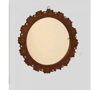 Brown Essential Mirrors In Wall
