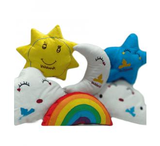 6 Piece Kids Cushion Set