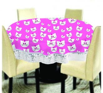 Amazing Big Size Round Table Covers Cat Face Printed Buy Home And Gifting Products Online High Quality Designer Items