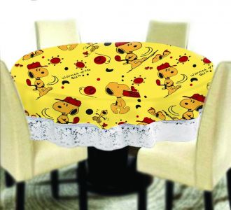 Stunning Big Size Round Table Covers Dog Printed Buy Home And Gifting Products Online High Quality Designer Items
