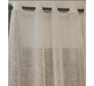 Wonderful Velvet Curtain In A Milk Colour