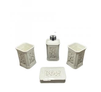 Awe Inspiring Bathroom Set Of Four Made From Italian Granite