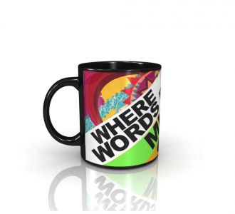 Fabulous Words Fail Music Speaks Mug Made With Ceramic