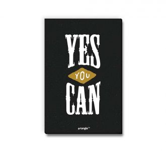 Magnificent Yes You Can Fridge Magnet Created From Medium Density Fibreboard