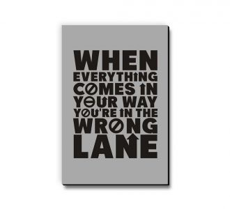Lovely You Are In The Wrong Lane Fridge Magnet Prepared By Using Medium Density Fibreboard