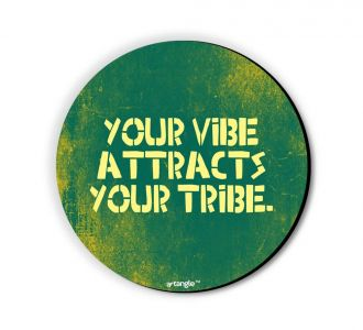 Stunning Your Vibe Attract Your Tribe Fridge Magnet Build From Medium Density Fibreboard